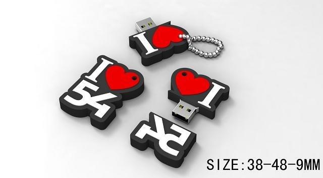 FACTORY 54 LOGO SHAPE USB MEMORY דיססק און קי לוגו פקטורי 54