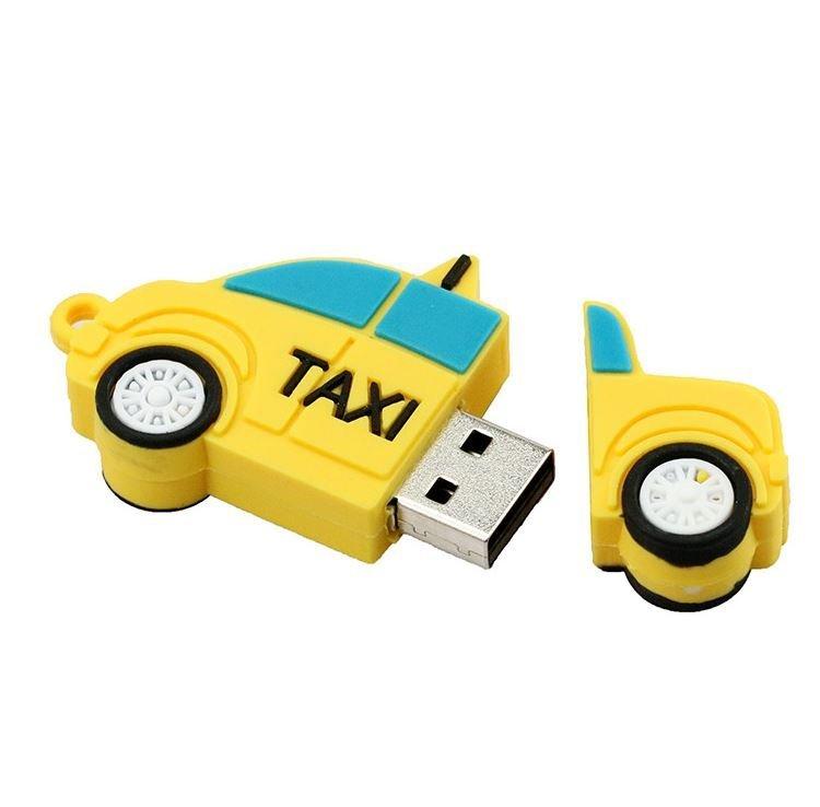 TAXI SHAPE USB DRIVE דיסק און קיי במראה מונית