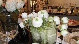 fiori e vasi in vetro