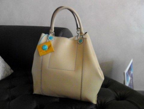 borsa color beige