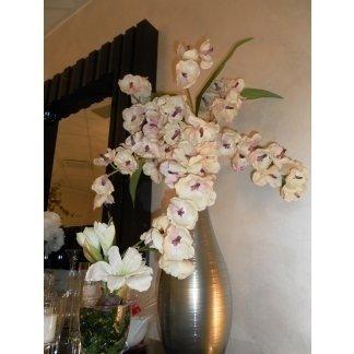 fiori bianchi in un vaso