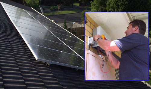 watts smart eectrical eric and solar panel