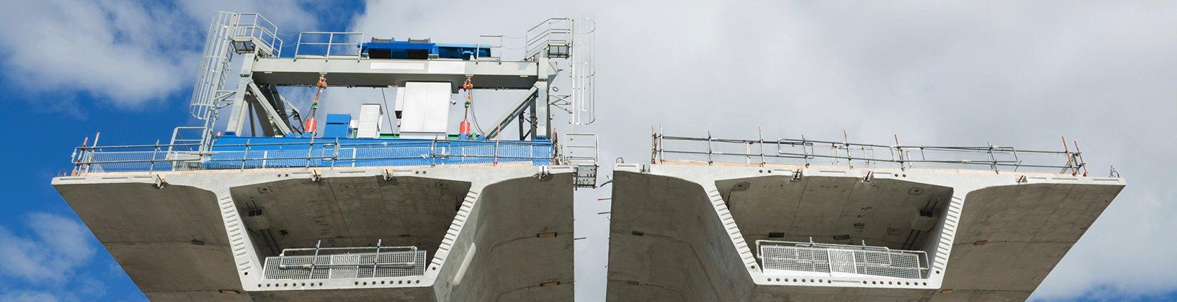 vista frontale di un cantiere navale