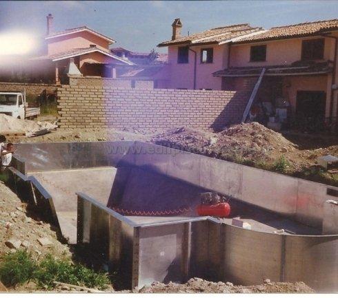 Piscine interrate su misura - Roma - Edil Piscine - Costruzione piscine interrate