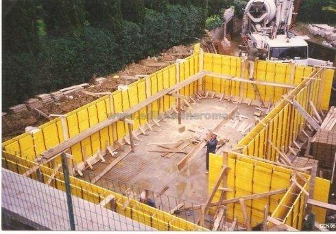 Piscine interrate su misura roma edil piscine - Costruzione piscina in cemento armato ...