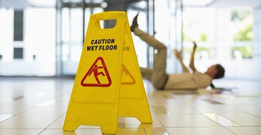 Wet Floor Hazard