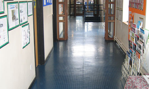 Colfe's School flooring