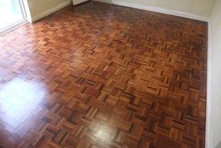 dark brown wooden flooring