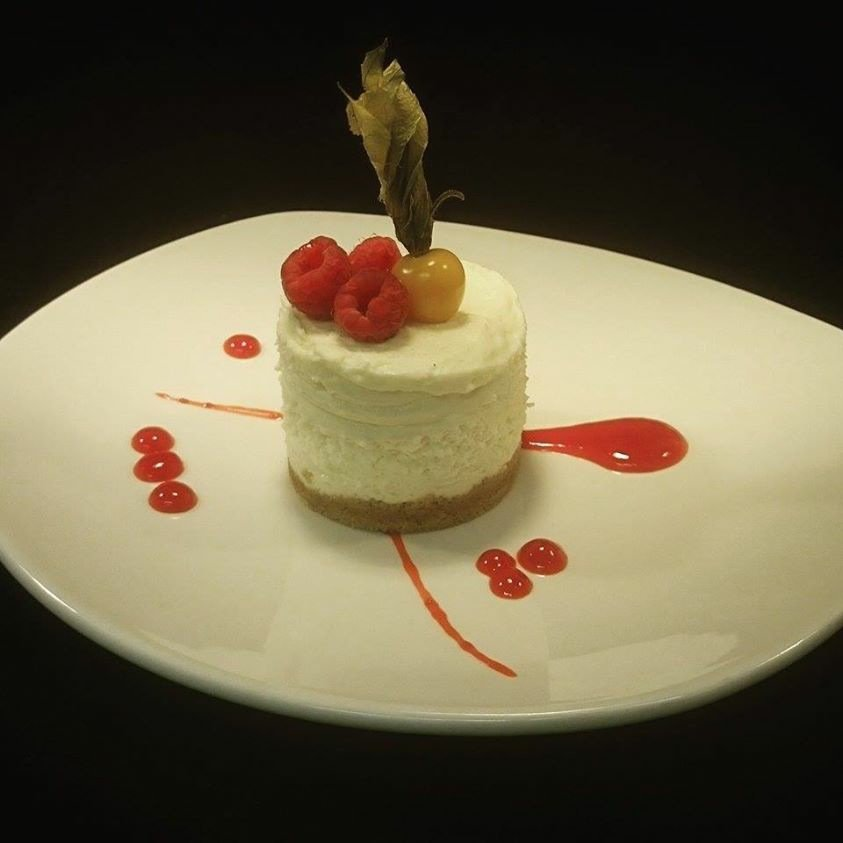 Delicious cheesecake served at our family restaurant in St Andrews