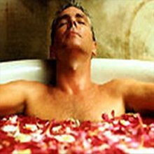 rose petal water bath