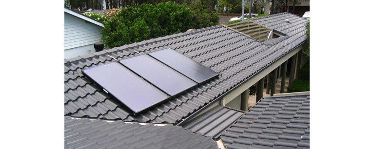 solar services solar split hot water