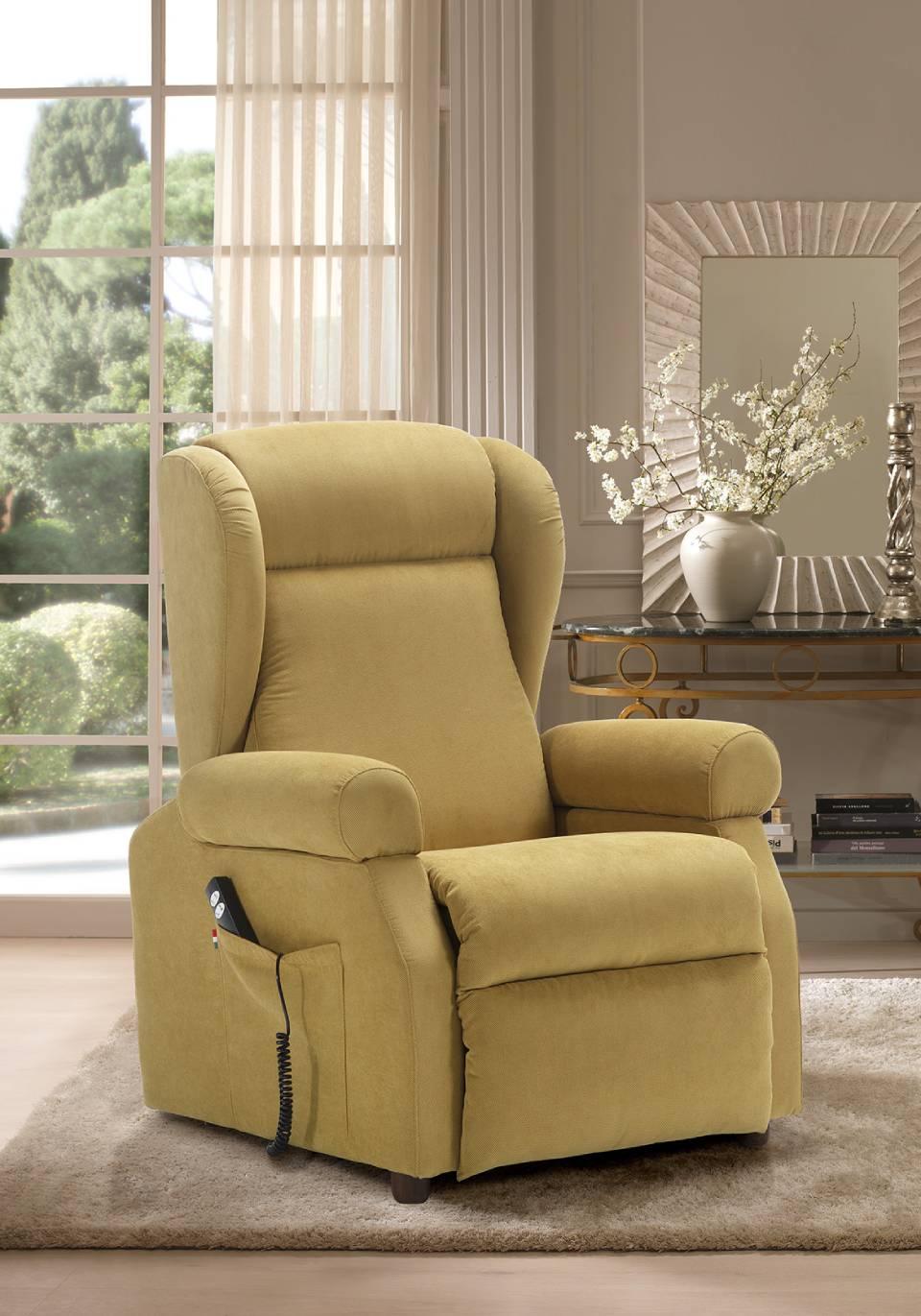 Poltrone E Relax.Poltrona Alzapersona Loira Modena Bernelli Comfort E Relax
