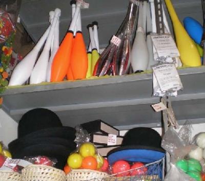 oggetti giocoleria
