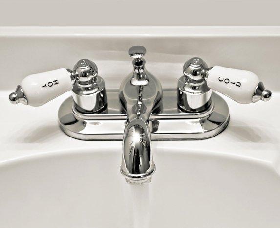 Chrome faucets