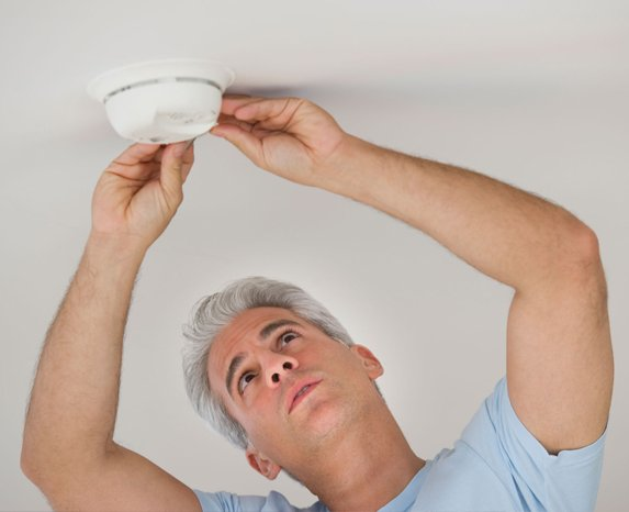 Smoke alarm inspection