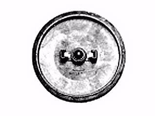 PULEGGIA COMPLETA DIAMETRO 153