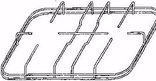 GRIGLIA FILO 2F 452x245 mm R9900912