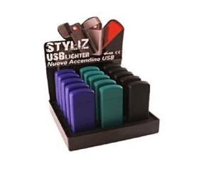 15 ACCENDINI USB COLORI N/B/V