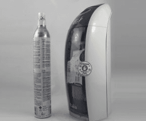GASATORE GAS-UP c/bombola CO2