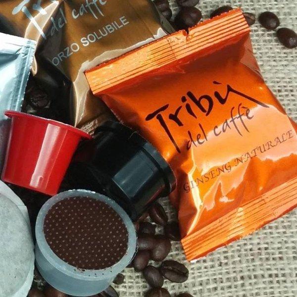 caffè, orzo e ginseng