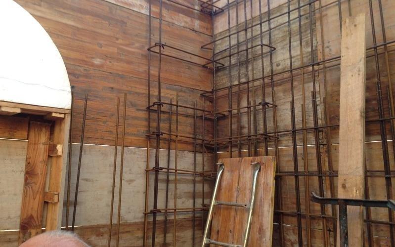 dettaglio struttura per portico
