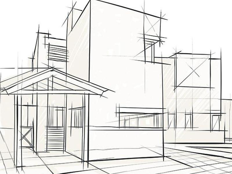 bozza disegno casa