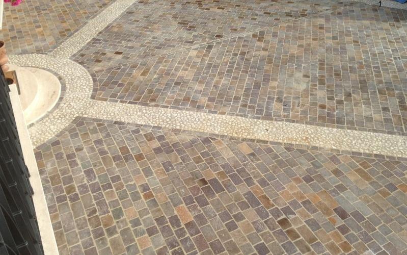 pavimento esterno completato