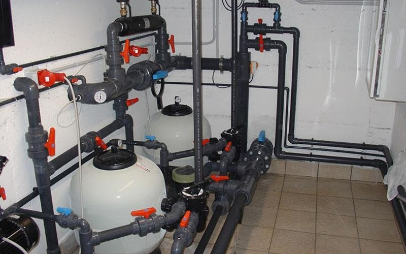 impianto filtrazione piscina