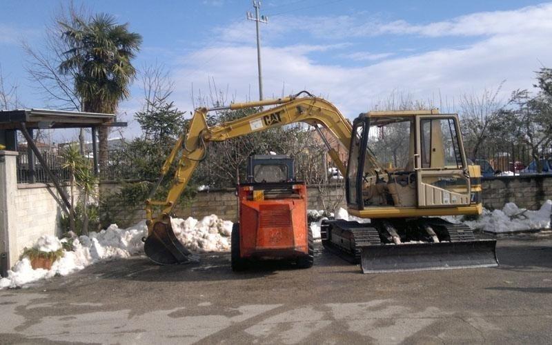 macchine per scavi e spianamenti