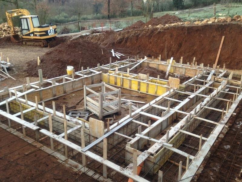fondamenta edificio