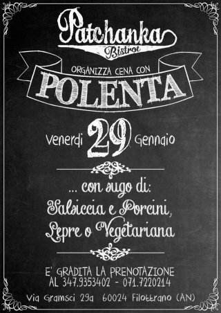 evento polenta