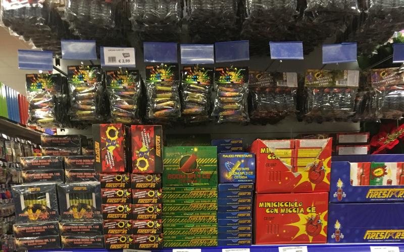 vendita petardi