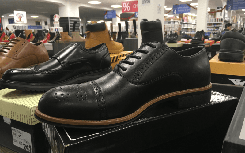 scarpa pelle