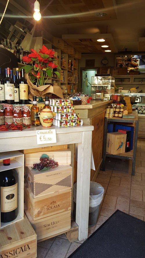 gastronomia e liquori in esposizione