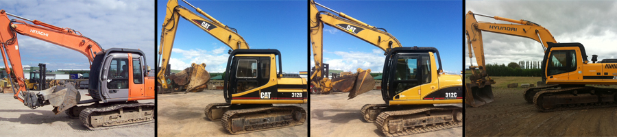Heavy machinery diggers for hire in Mt Maunganui