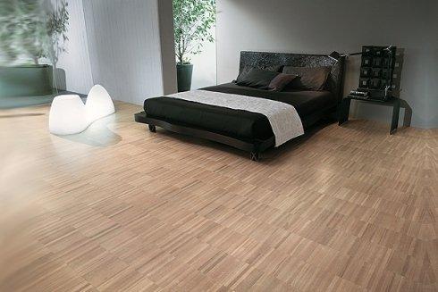 Pavimentazione per camere da letto.