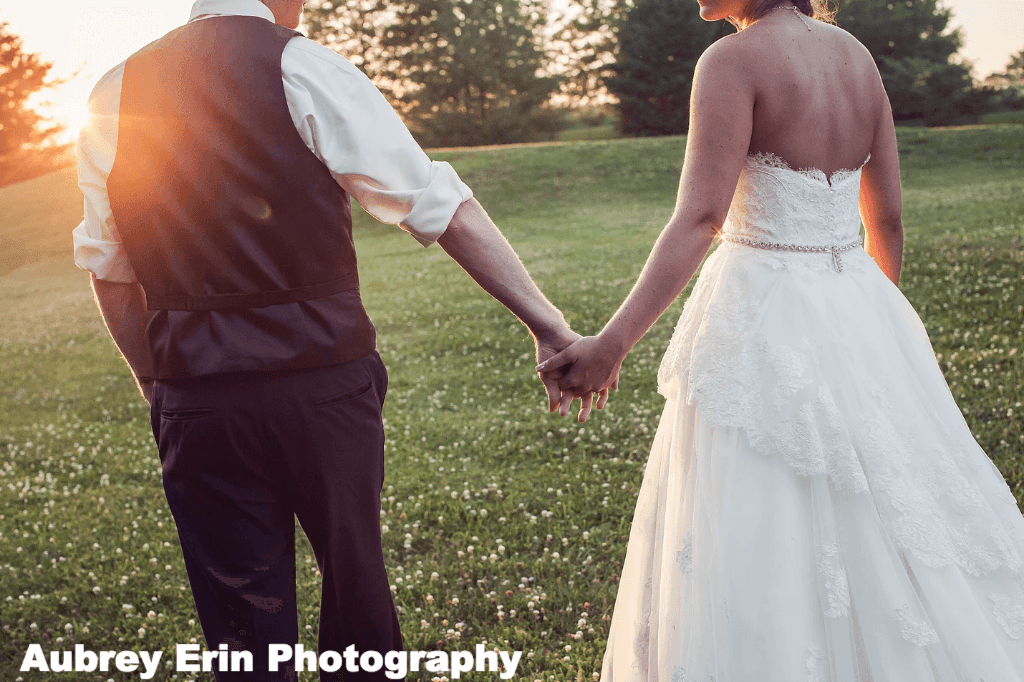 KC Mobile DJ Kansas City Wedding DJ Wedding Photography Aubrey Erin Photo Sunset Hour