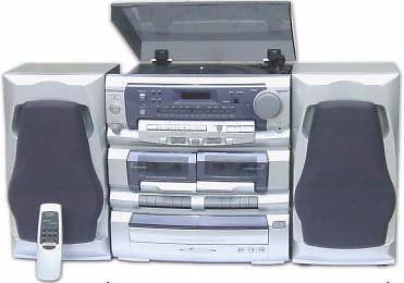 KC Mobile DJ How to make your mp3 player wedding not suck old stereo cd tape player classic radio