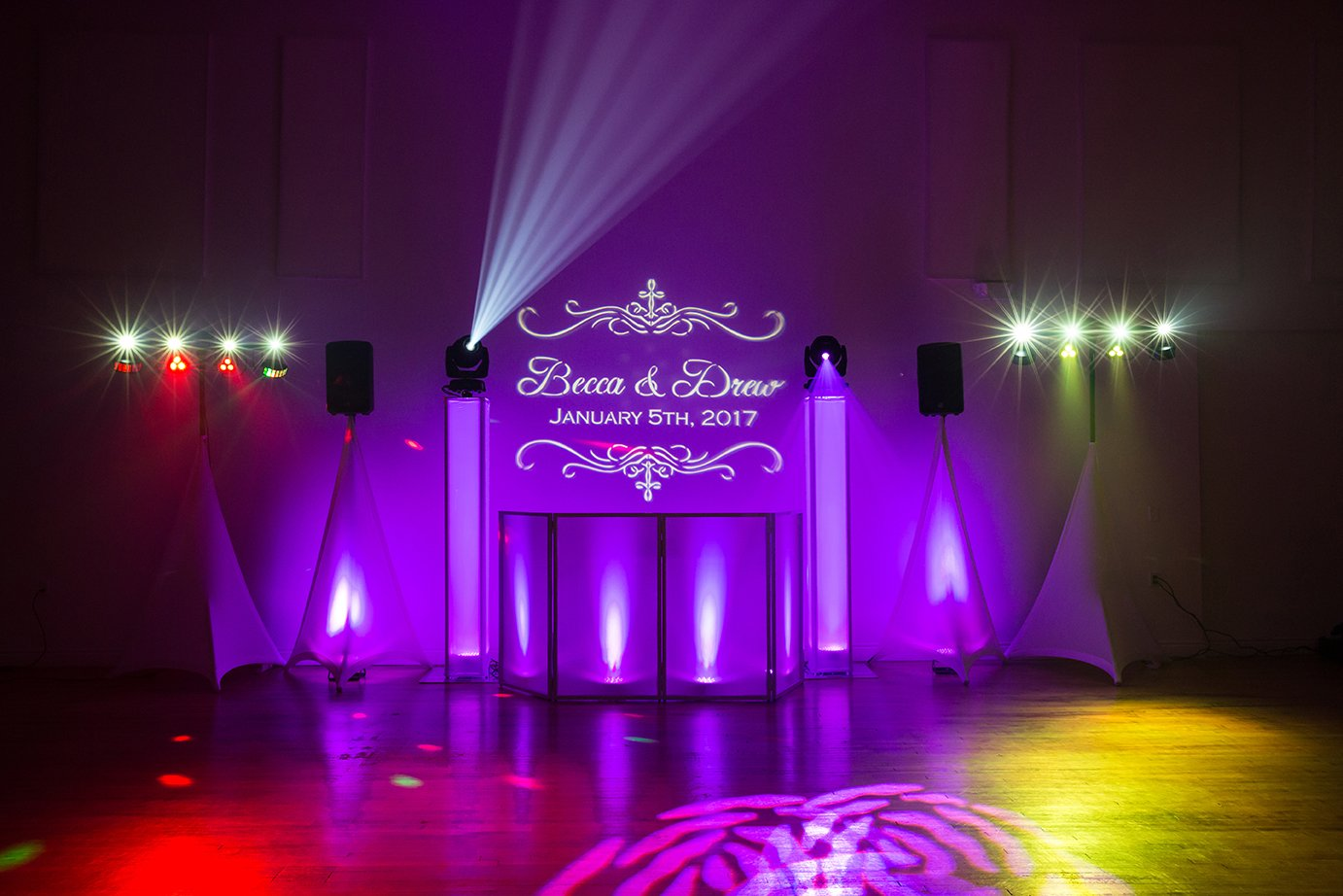 KC Wedding DJ Totems Gobo