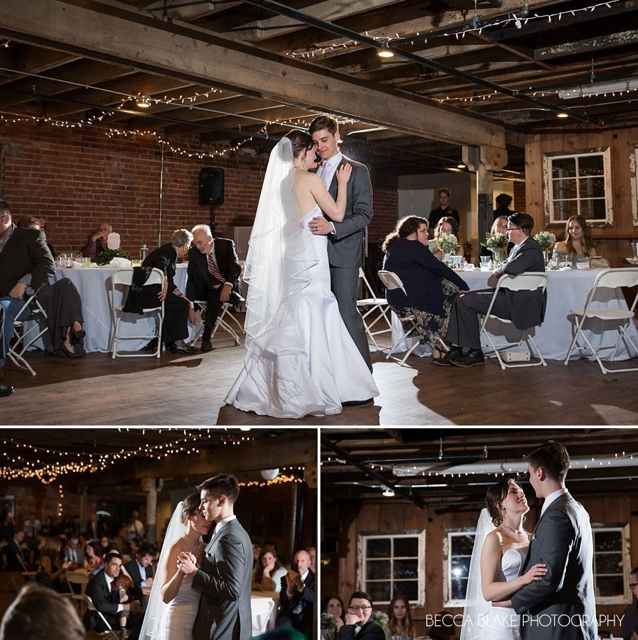 Wedding DJ Notices about Wedding Photographer First Dance Becca Blake Multiple Angles