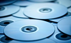 Duplicated DVDs