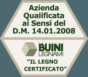 legno certificato - Fratelli Buini Legnami - Assisi
