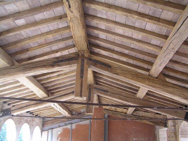 Tetti in legno massello - Fratelli Buini Legnami - Assisi