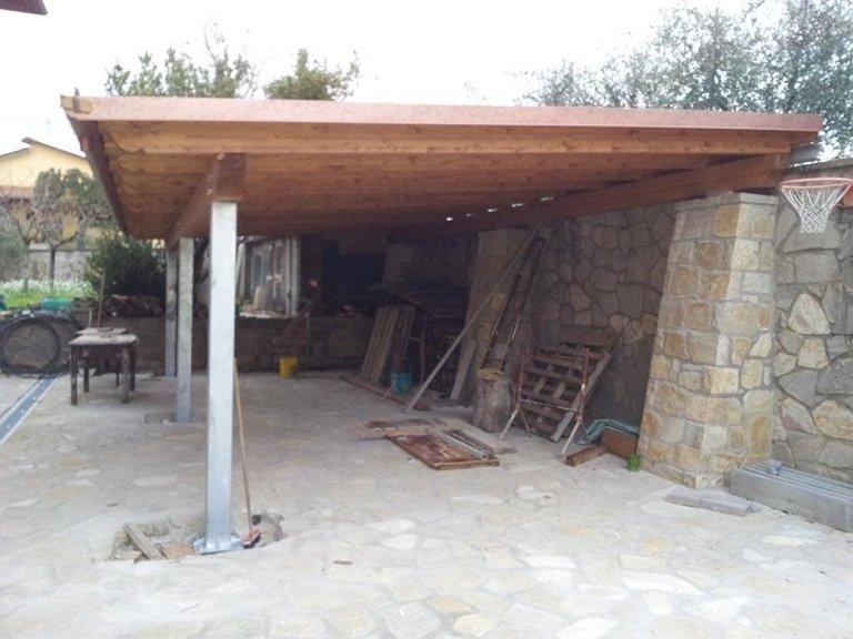 Porticati in legno - Fratelli Buini Legnami - Assisi