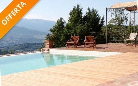 Offerta pavimento in legno per piscine - Fratelli Buini Legnami - Assisi