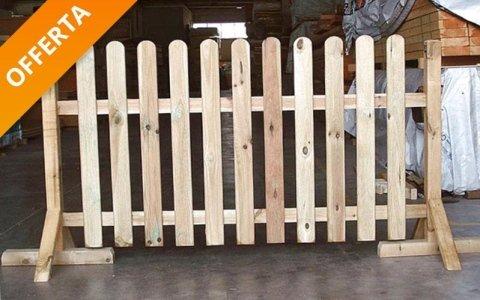 Offerta recinzione in pino - Fratelli Buini Legnami - Assisi