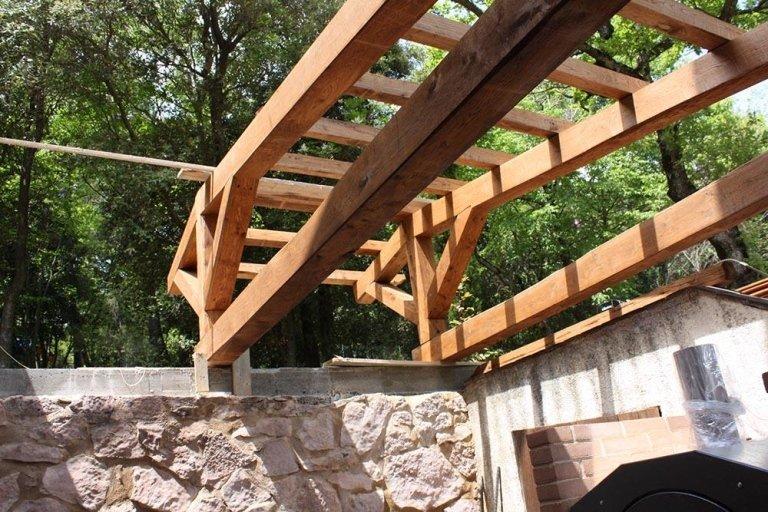 Strutture in legno - Fratelli Buini Legnami - Assisi
