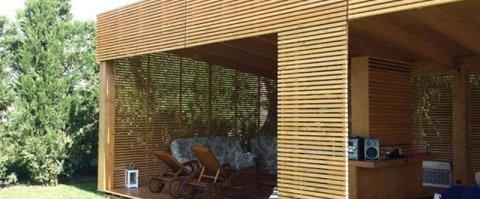 Realizzazione arredi giardino e urbani