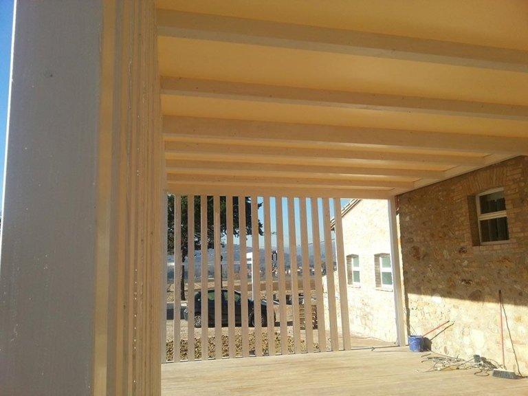 Pergolati in legno - Fratelli Buini Legnami - Assisi