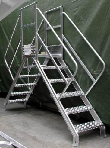scale e passerelle in acciaio Torino